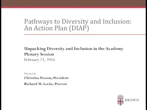 Unpacking Diversity and Inclusion in the Academy