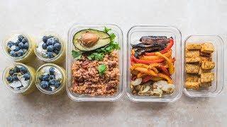 Easy Vegan Meal Prep (Healthy + Gluten Free)