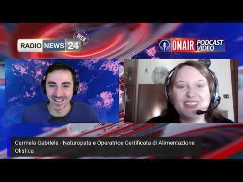 Olisticmap - Intervista Radio News 24 alla Naturopata dr.ssa Carmela Gabriele