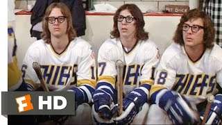 The Hansons Play Dirty - Slap Shot (6/10) Movie CLIP (1977) HD