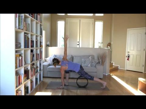 10 Beginner Poses Using the Yoga Wheel