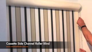Cassette Side Channel Roller Blinds