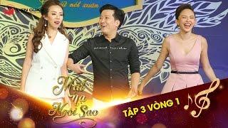 """Mặt nạ ngôi sao   Tập 3 vòng 1: Thu Trang reo mừng vì vô tình gặp lại """"em gái thất lạc"""""""