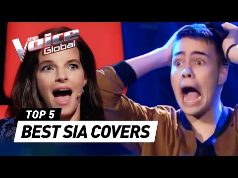BEST SIA COVERS in The Voice worldwide