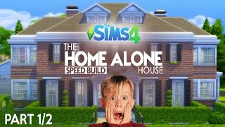 The Sims 4 Speed Build - The Home Alone House (1/2)