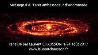 Message D'Al Faret D'Andromède Laurent Chausson