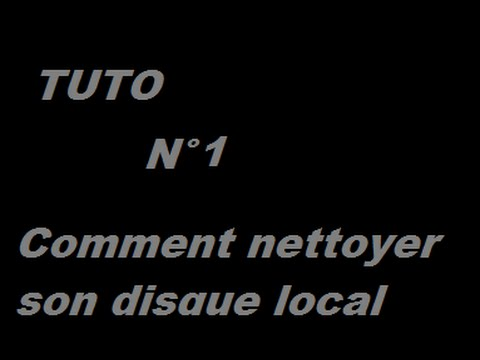 comment nettoyer disc c