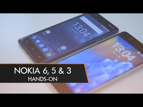 Nokia's First Android Phones! Nokia 5 & 3 Hands-On | MWC 2016