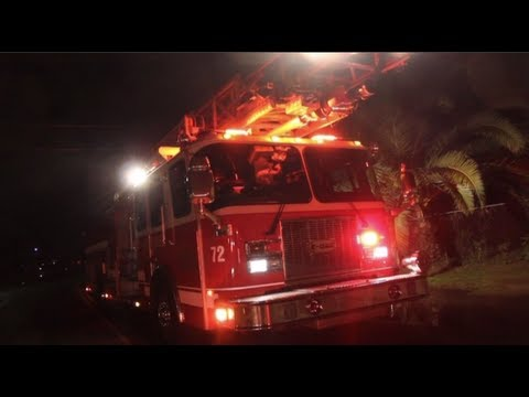 Firefighters Find Marijuana Grow Operation During House Fire – Modesto, California