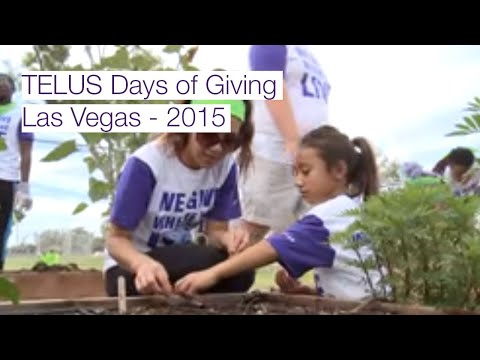 TELUS Days of Giving, Las Vegas