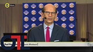 Paul Finebaum: Nick Saban showed no concern on the ongoing starting quarterback debate   OTL   ESPN
