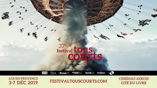 Campagne d'affichage Festival Tous Court.