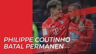 Alami Penurunan Performa, Philippe Coutinho Batal Dipermanenkan Bayern Muenchen