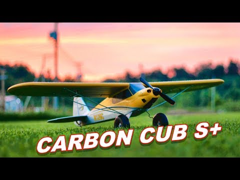 BEST Beginner RC Plane 2018 – HobbyZone Carbon Cub S+ Airplane – TheRcSaylors