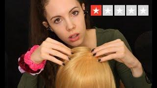 ASMR Worst Reviewed Hairdresser
