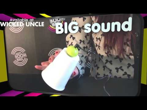 Youtube Video for Pink Mighty Boom Ball - Pocket Sound System!
