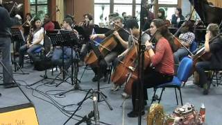 preview picture of video 'Orchestr Taft School a big band ZUŠ Brno Antonínská 8.mpg'