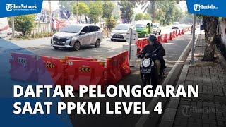 Jokowi Tetapkan PPKM Level 4 Diperpanjang hingga 2 Agustus 2021, Ini Pelonggaran yang Diterapkan