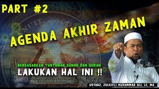 CoronaVirus Late Agenda Doomsday  Part2 - Ust Zulkifli Ali