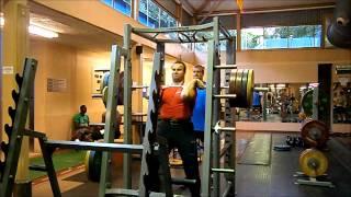 Jan Marcell Front squat - 190kg