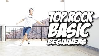 Bboy Tutorial I Basic Top Rock For Beginners I