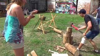 Рубка дров. Крестьянин ру. Молодёжная версия