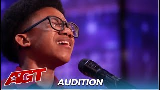 Kelvin Dukes: Teen Singer With Amazing Voice Is Nervous About BURPING Mid Performance