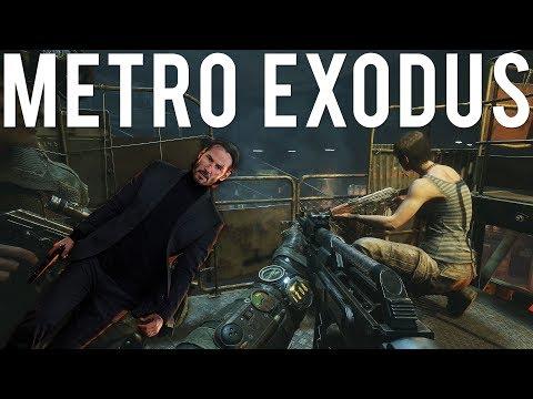 If John Wick played Metro Exodus