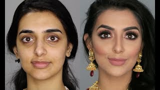 Indian/Bollywood/South Asian Bridal Makeup | Start to Finish | Mona Sangha - Download this Video in MP3, M4A, WEBM, MP4, 3GP