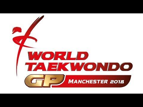 WT WORLD TAEKWONDO GRAND PRIX 2018 Day 2 Session 1 Court 1