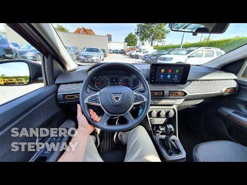 Dacia Sandero Stepway Automatic 2022 Test Drive POV