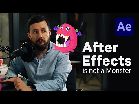 Learn Adobe After Effects Basics - AE for Beginners Tutorial