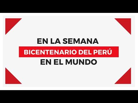 Semana del Bicentenario en el Mundo