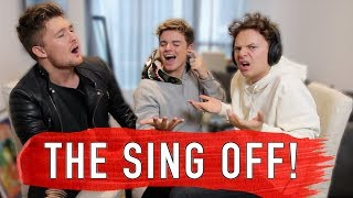 THE SING OFF VS CONOR MAYNARD & MIKEY PEARCE - Video Youtube