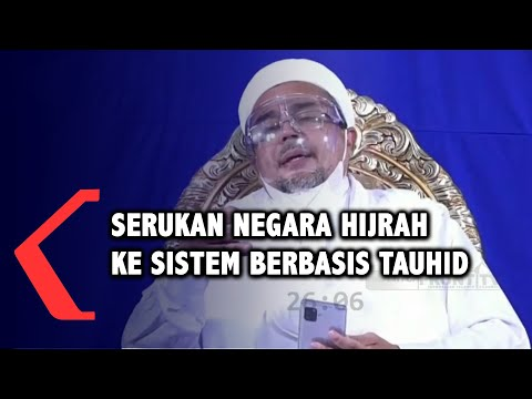 rizieq shihab serukan hijrah ke sistem negara berbasis tauhid