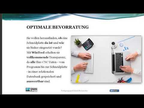 Wintool - Die Werkzeugverwaltung für den Mittelstand [OnlineTalk - Digitale Fertigung]
