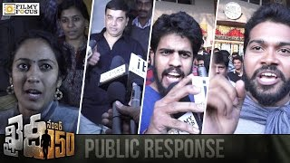Khaidi No 150 Movie Public Response  Khaidi No 150 Review  Chiranjeevi Kajal  Filmyfocuscom