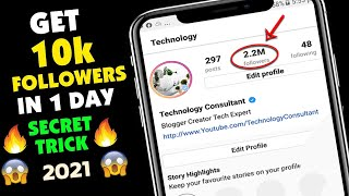 How To Get 10000 Instagram Followers Everyday? 2020 | Free Instagram Followers Hack