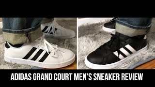Mens Adidas Grand Court Review #footwear #shoes