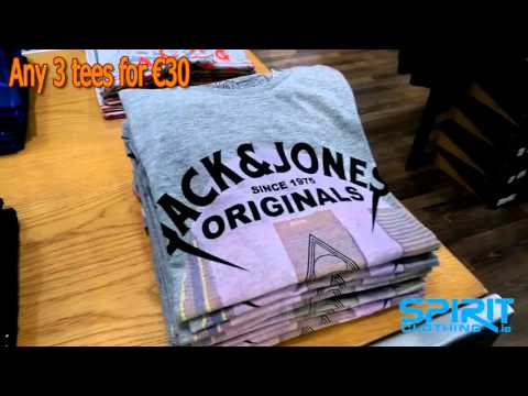 Jack Jones Tees 3 for €30