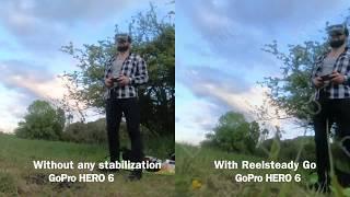 Reelsteady Go & GoPro HERO 6 (FPV drone)