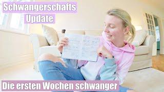 DOCH ZWILLINGE? 👶🏼 Schwangerschafts Update   5-9 SSW   Isabeau