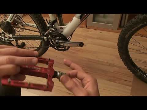 Pedale wechseln/montieren (Ein- und Ausbau) - ausführlich mit 2 Techniken ** Workshop Teil 1