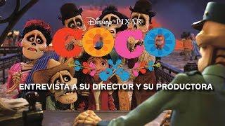 'Coco' - Entrevista con el director y la productora de la última película de Pixar