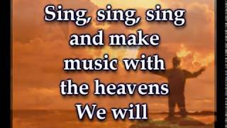 Sing, Sing, Sing - Chris Tomlin- Worship Video w/lyrics