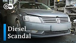 German manufacturers offload diesel cars to Eastern Europe | DW News