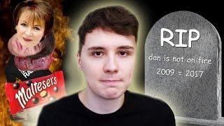RIP 'danisnotonfire' 20092017 I'm not dead