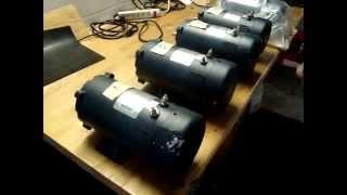 Leeson 24V DC 1HP Multiple Motor Demo