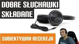 Dobre słuchawki składane  - ENCORE ROCKMASTER - AudioMagic.pl