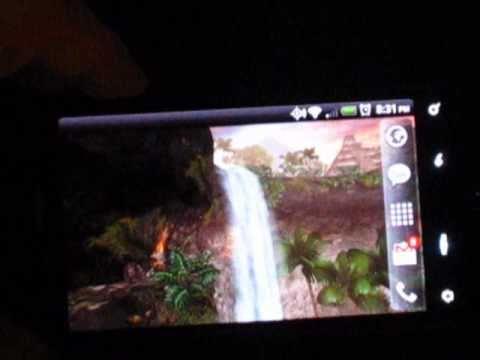 Video of Jungle Waterfall LiveWallpaper